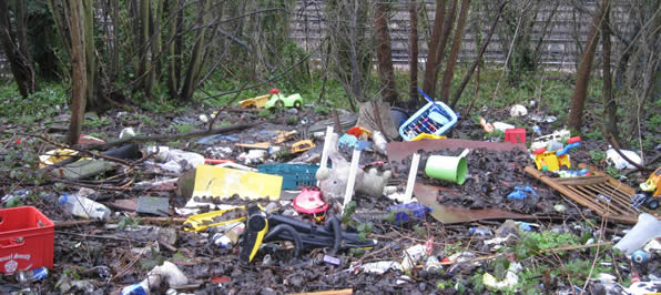 Lower Holloway Fly Tipping Cleanup